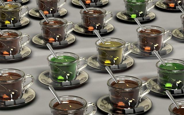 różne herbaty