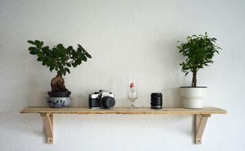 Półki drewniane na ścianę